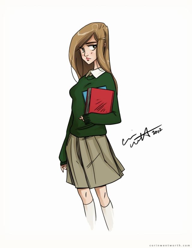 Beth (Sketch) | corinwentworth.com