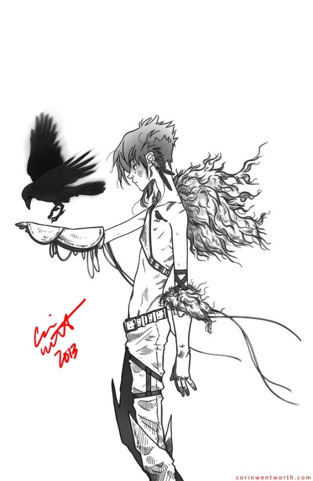 Birds (Dream) (Sketch) | corinwentworth.com